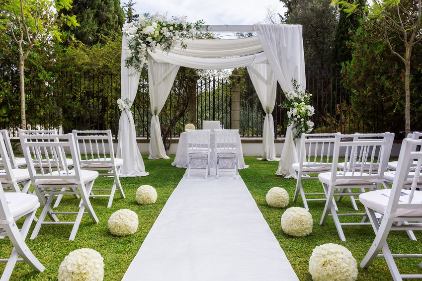 Want an Outdoor Wedding? Check Out Country Clubs