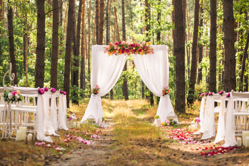 romantic wedding places